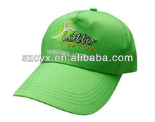 100% Cotton Customized baseball cap in fashion accessories