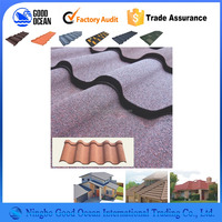 New building materials stone coated metal roofing tile
