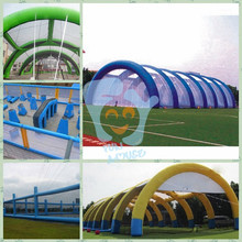 inflatable paintball bunkers field
