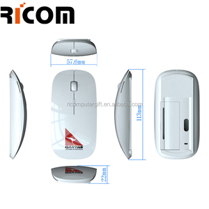 personalized wireless mouse, promotional mouse, super flat stylish wireless mouse