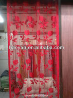 jacquard string curtain door designs for living room