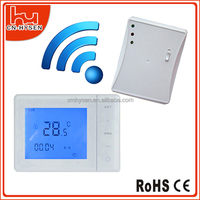 Digital wireless touch screen thermostat 433mhz wireless remote control