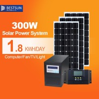 25 years warranty Poly 300W Solar panel on grid off grid aluminium module