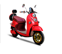 48V 500W Adult Electric Scooter Bike with Pizza Box / Electric Motorcycle for Fast Speed Cargo Delivery