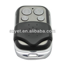 remote control plastic cover ,RF remote control for car/motor/home alarm system YET026