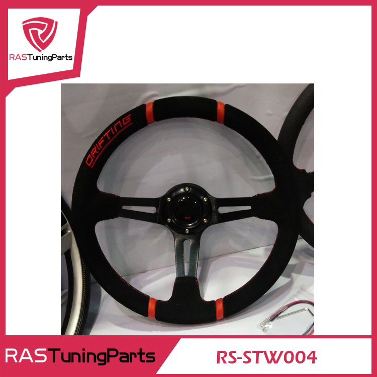MOMO Racing Car Modification Steering Wheel Leather Material