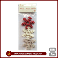 Christmas decoration snowflake polyester family tree wall sticker