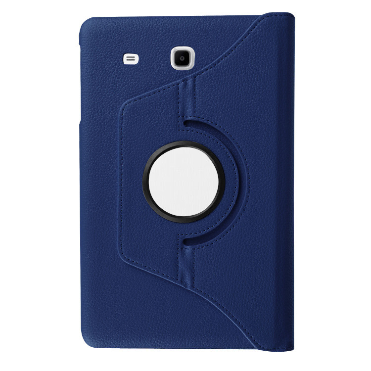 360 Rotating Folio Leather Cover Case For Samsung Galaxy Tab E 9.6 inch T560 T561