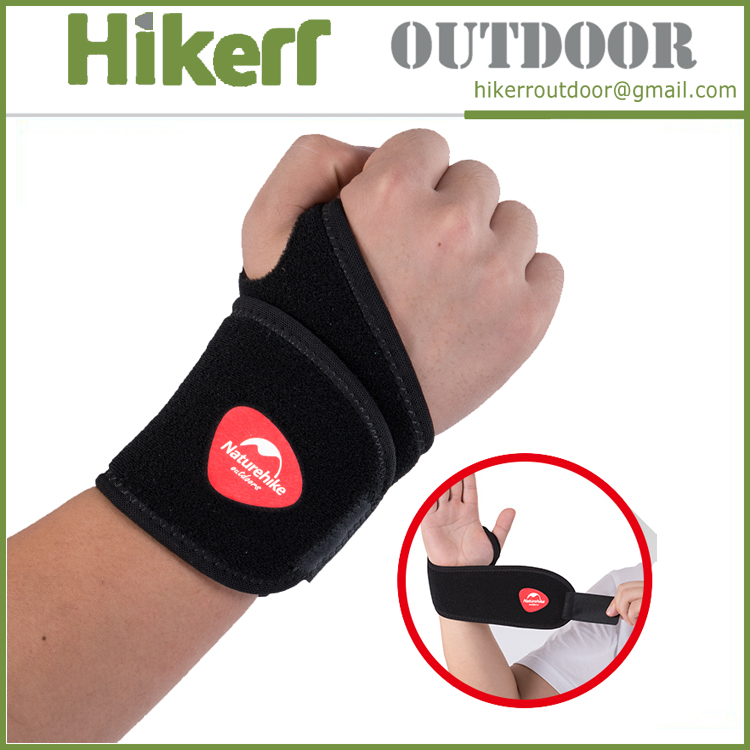 Sport protective wristband outdoor wrist wrap adjustable wrist support