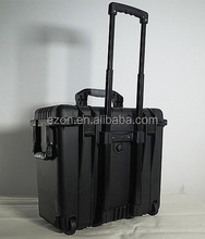 PP plastic safety tool case with handle/Plastic pull rod case/Strong hard plastic storage tool case
