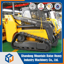 Chinese Manufacturer Brand Mountain Raise NEW 1.2ton Track MR100C Crawler skid steer loader