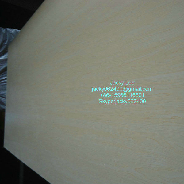 Maplecheap double sides cheap melamine MDF + plywood board sale
