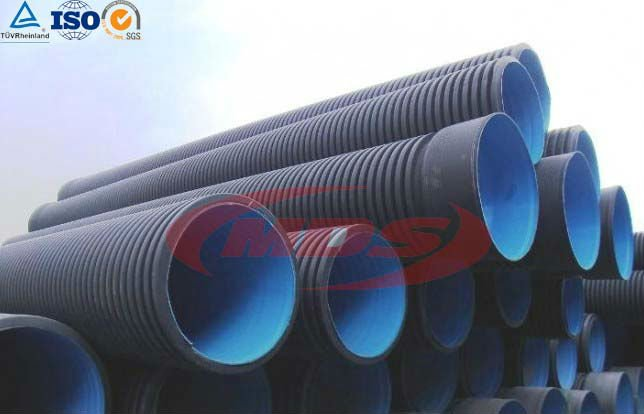 hdpe perforated pipe for drainage system