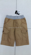 Kid's fashion high quality comfortable brand sport shorts pants overstock clearance