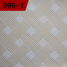 PVC gypsum ceilings cheap flexible ceiling tiles 2x4