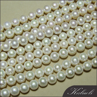 Loose wholesale round AA big 12mm freshwater pearl