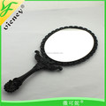 Black Laced Cosmetic Mirror / High Guality Nice Hand-mirror for Women
