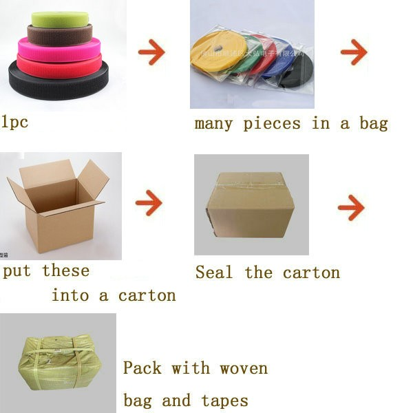 Eco-friendly soft hook and loop tape for baby cloth