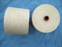 80/20 polyester linen blended yarn for knitting and weaving Ne5-40S in china