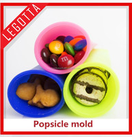 Silicone hot sale high quality innovational popular popsicle mold non-poisonous