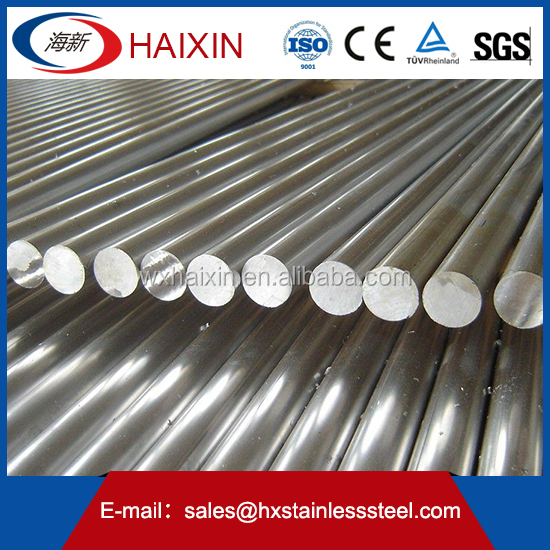 Stainless Steel round Bar Pickled F51 F53 Manufacturer