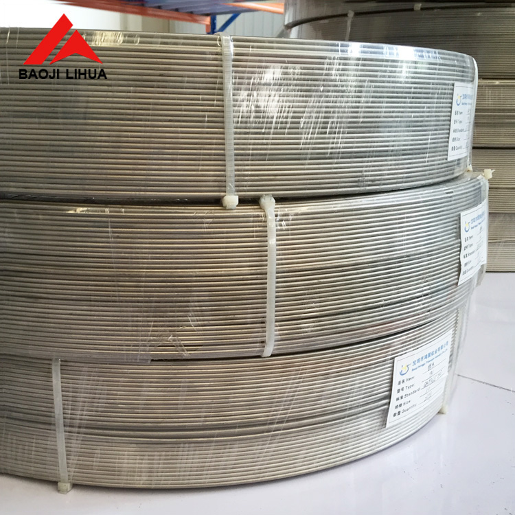 0.6mm 0.8mm Grade1 titanium wires pickling surface in coil