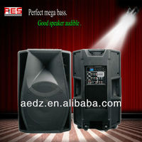 Aier professional hot sale powered pa speaker enclosure with good sound amplifier
