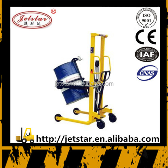 New condition manual Hand Hydraulic oil drum stacker