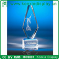 crystal Omni Acrylic Award and trophy