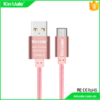 1M Colorful Braided rope data line charging cable Flat USB Data Cable For Apple iPhone 7/7plus