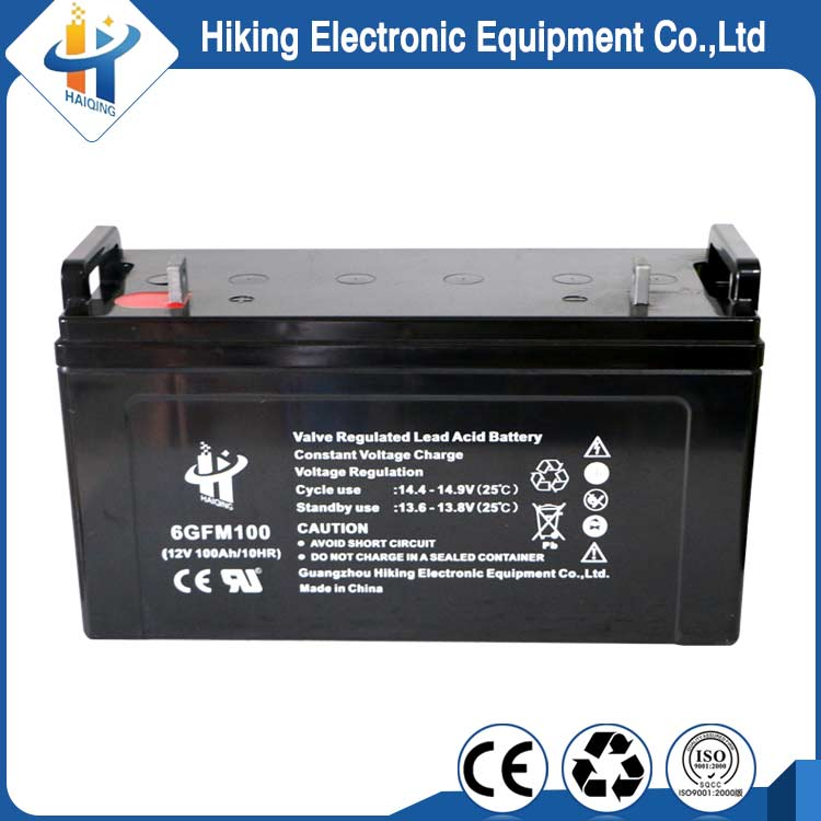 Agm 12 volt 100ah Sla sealed lead acid ups battery supplier