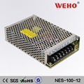 High quality NES series 100w 12volt cctv switching power supply