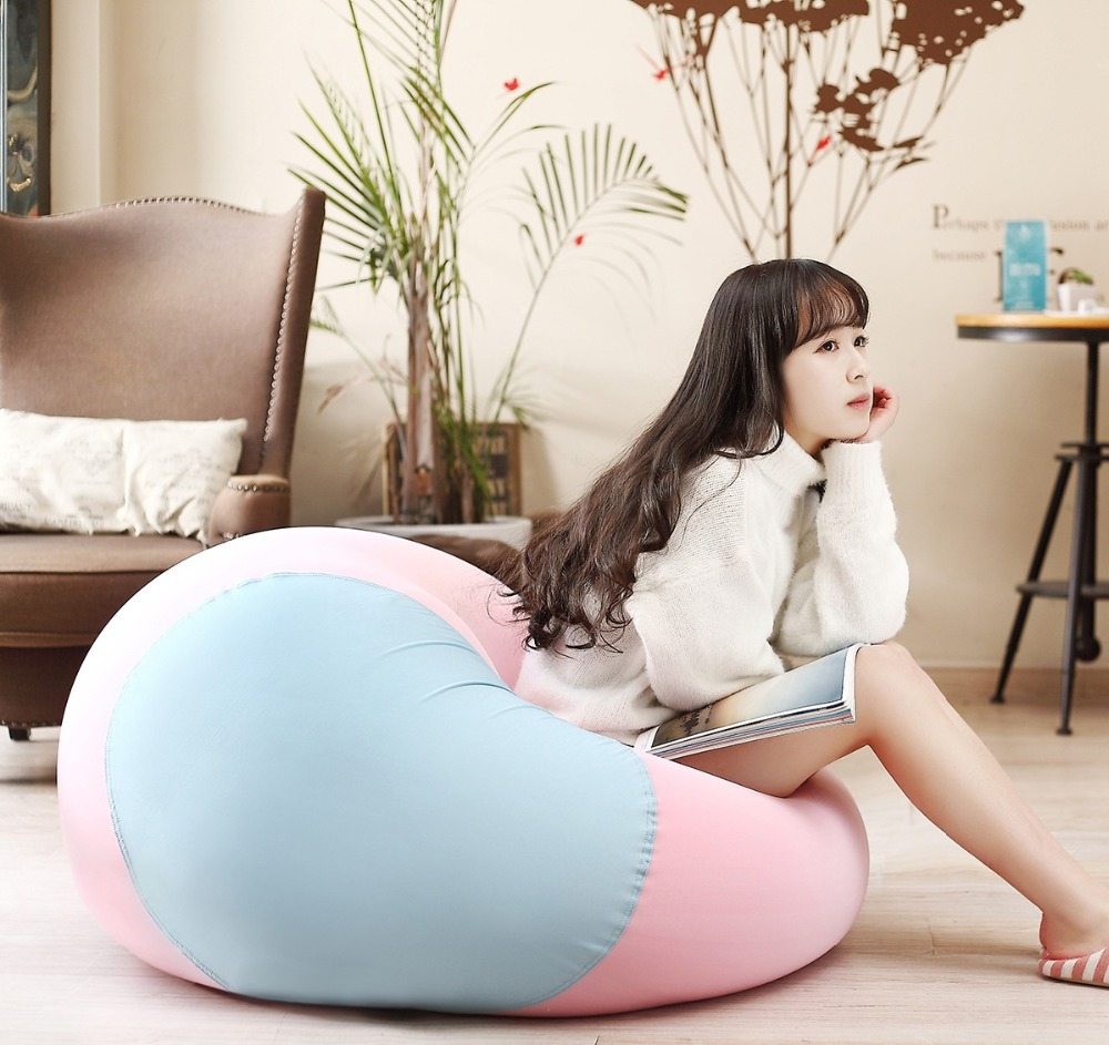 ISO 9001 Factory different color fatboy bean bag with CE certificate