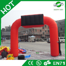 Unique design inflatable arch,halloween inflatable arch,inflatable starting line arch