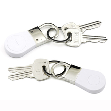 AWM406 New Design High Quality Metal GPS Key Chain Anti Lost Finder Bluetooth Child Tracker