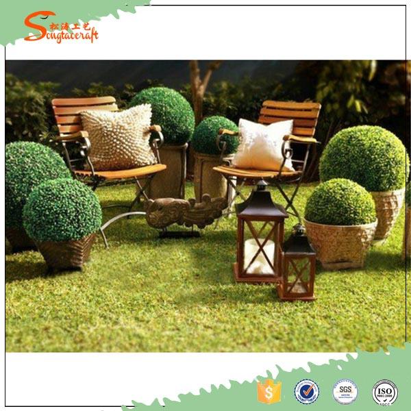 Casa giardino palla topiaria artificiale bosso piante for Giardino artificiale