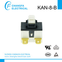 VACUUM CLEANER power push button switch KAN-8-B(UL/VDE/TUV /CQC) CHANGFA SWITCH