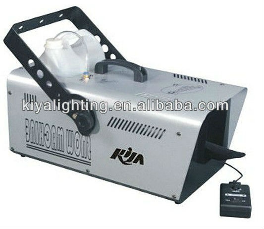 1500W stage effect snow machine for Bar/DJ/Disco