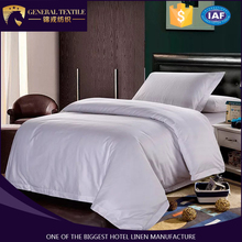 100% brand hotel 40*40S/250TC bed cover bedding set from China factory