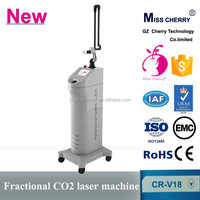 fractional co2 laser burn scar removal equipment/surgical scars removal