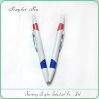 2 ink colors Multi colour pen, promotional 2 in 1 pen