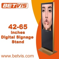 New Launch touch standing digital signage advertising kiosk