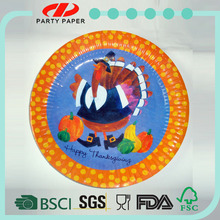 DYPD welcome OEM & ODM elegant bird paper plates