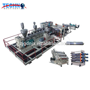 New high quality multi-layer plastic sheet production line