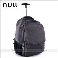 Business man backpack wheeled 16.5 inch laptop bag with trolley strap for travel