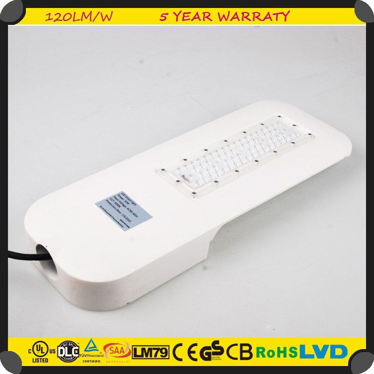 FCC Certification High Power E40 E27 30w IP65 12v DC COB led street light