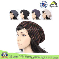New Fashion Custom Women Slouch Baggy Beanie Hat Ski Crochet Knitted Hat