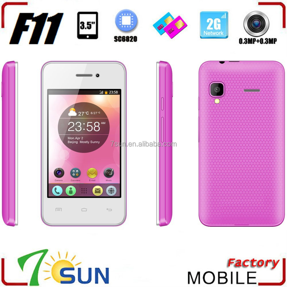 quality products F11 cheapest 3g android mobile phone