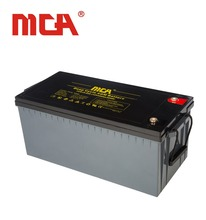 solar battery 12v 220ah ,deep cycle lead acid battery with cheap price ,for solar system