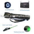 20 mw Green Laser pointer with Twinkling